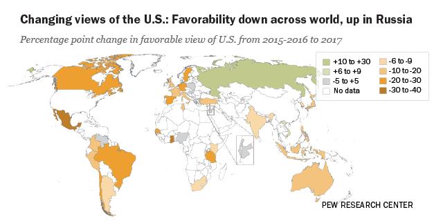 c2ff9edfe8c4 Trump Unpopular Worldwide